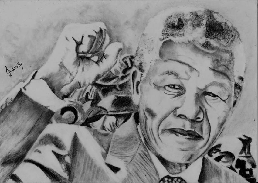Nelson Mandela by audreyD